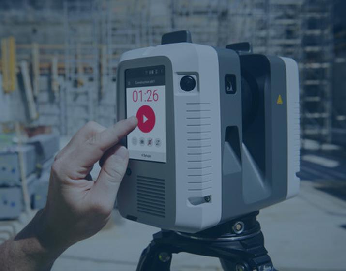 Capturing 3D data sets